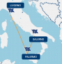 Palermo-Salerno-Livorno